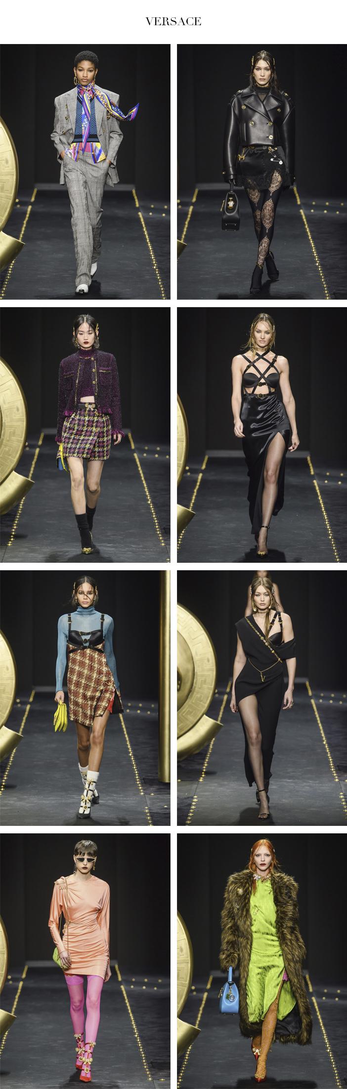 Semana de Moda de Milão - Inverno 2019 - Parte 2 - Versace
