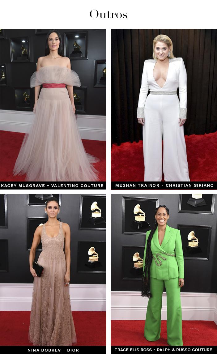 Tapete Vermelho - Grammy 2019 - Outros