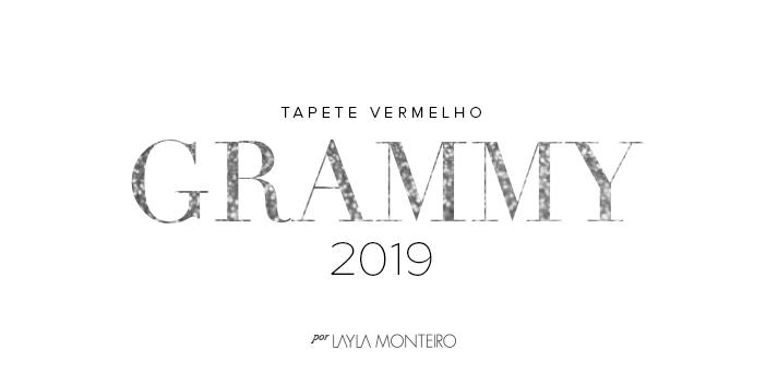Tapete Vermelho - Grammy 2019