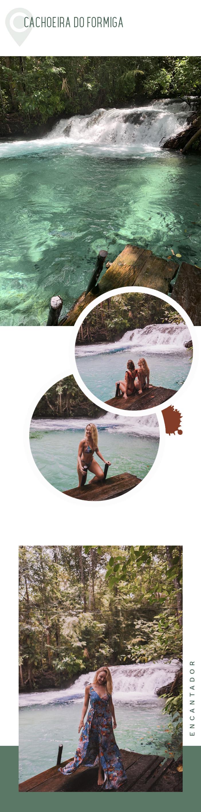Diário de Bordo - Layla no Jalapão - Cachoeira do Formiga