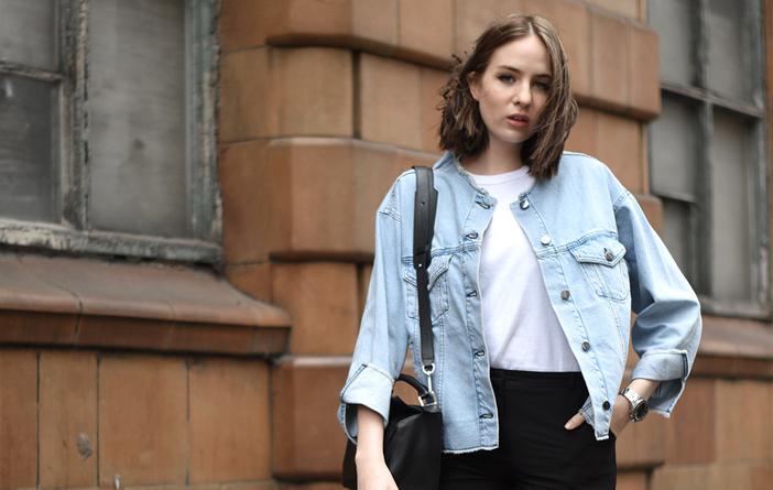 Inspiração – Looks com jaquetas jeans