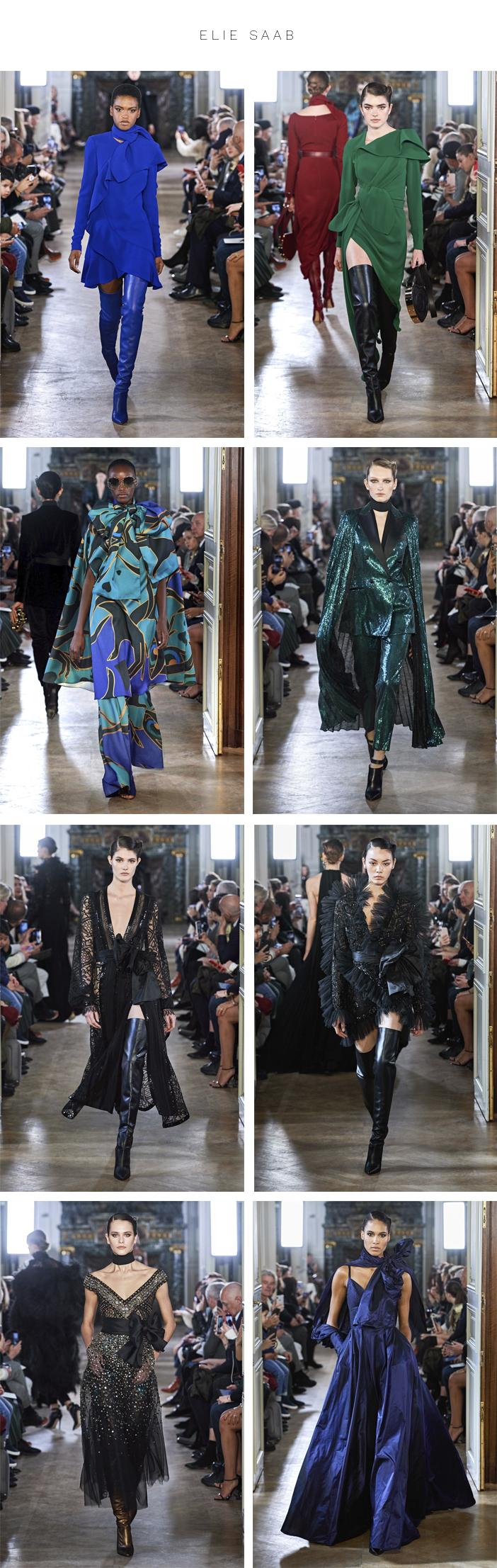 Semana de Moda de Paris - Inverno 2019 - Parte 2 - Elie Saab