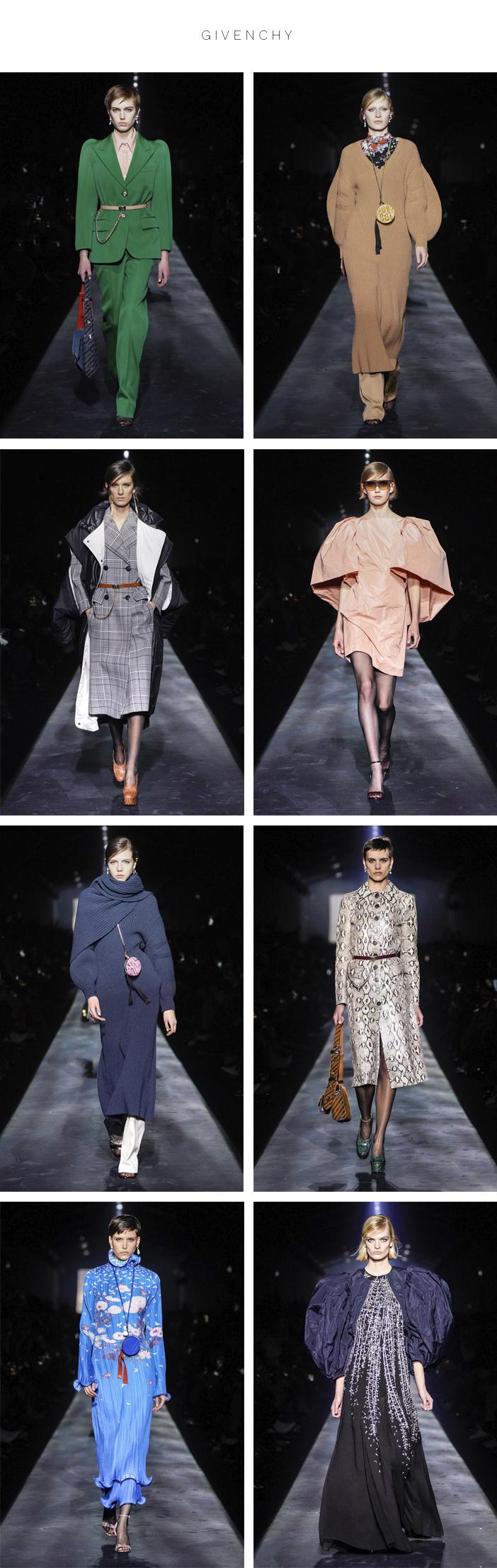 Semana de Moda de Paris - Inverno 2019 - Parte 2 - Givenchy