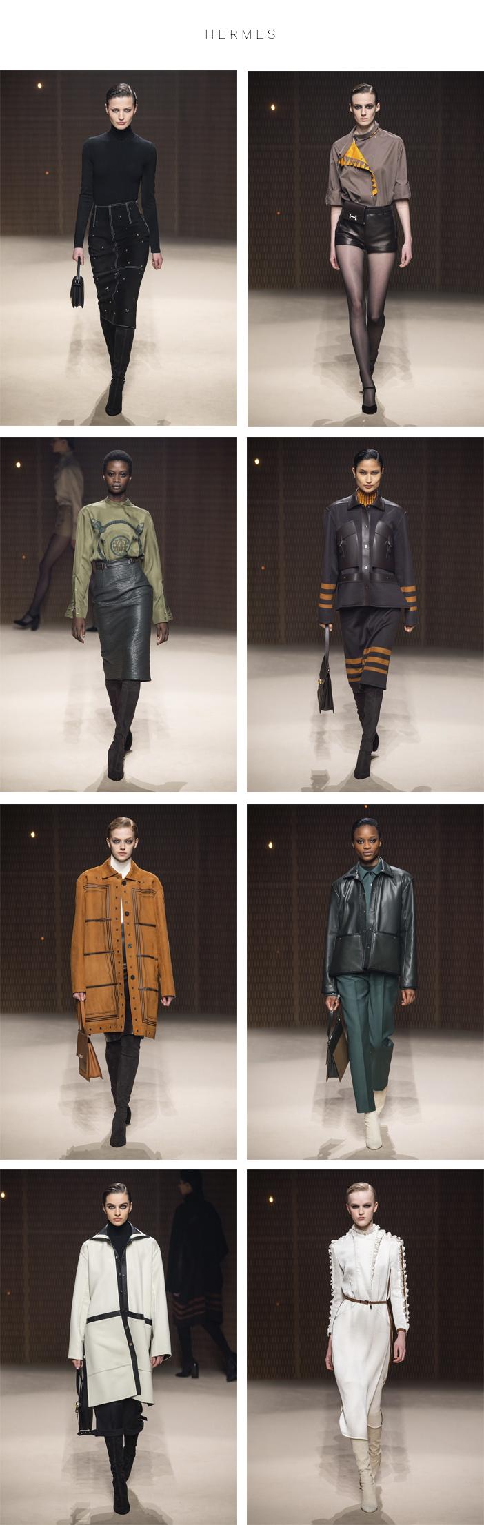 Semana de Moda de Paris - Inverno 2019 - Parte 2 - Hermes