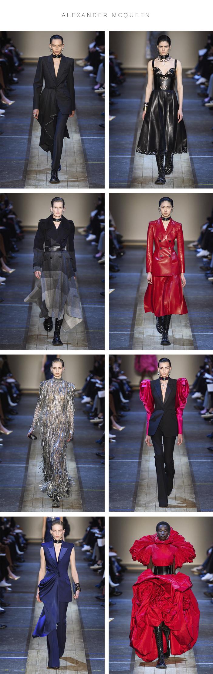 Semana de Moda de Paris - Inverno 2019 - Parte 3 - Alexander Mcqueen