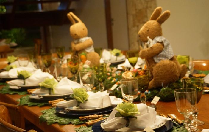 Inspiração para a mesa de Páscoa