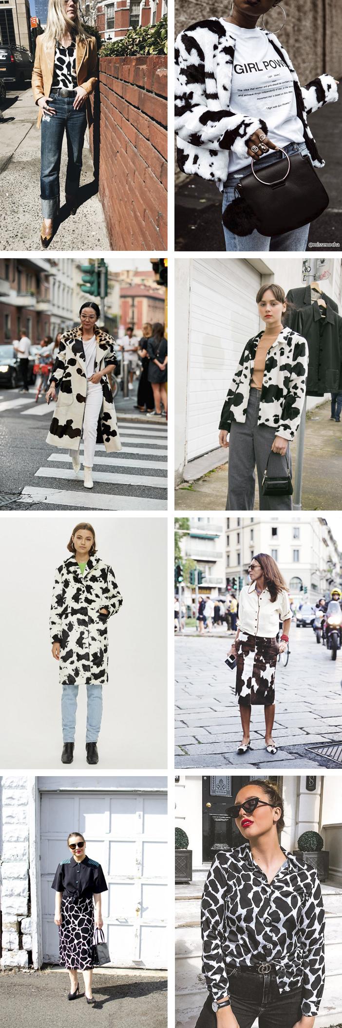 Animal Print - Estampa de Vaca