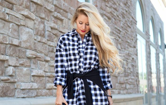 Looks com camisa xadrez