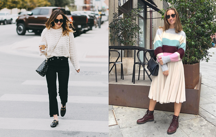 14 looks com tricots