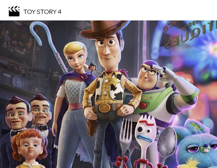 Cinema - Filmes para as próximas férias de julho - Toy Story 4