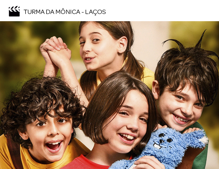 Cinema - Filmes para as próximas férias de julho - Turma da Mônica - Laços