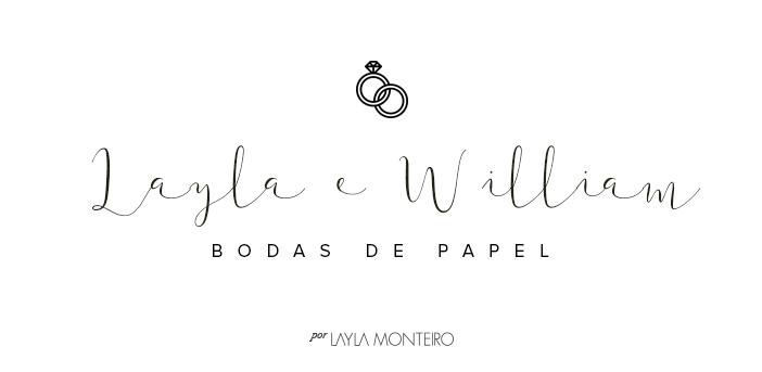 Layla e William - Bodas de papel