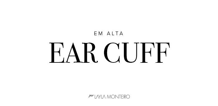 Em alta - Ear Cuff