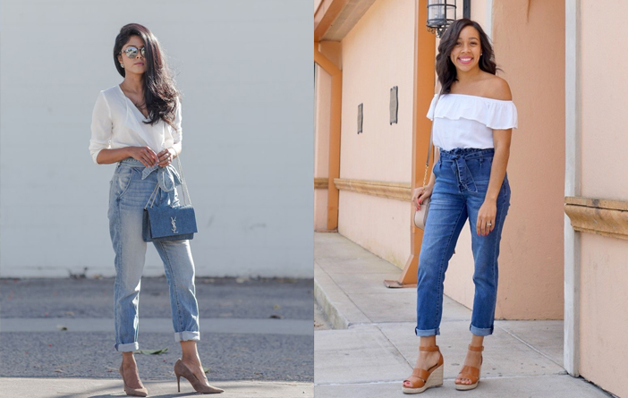 Looks com calça clochard jeans