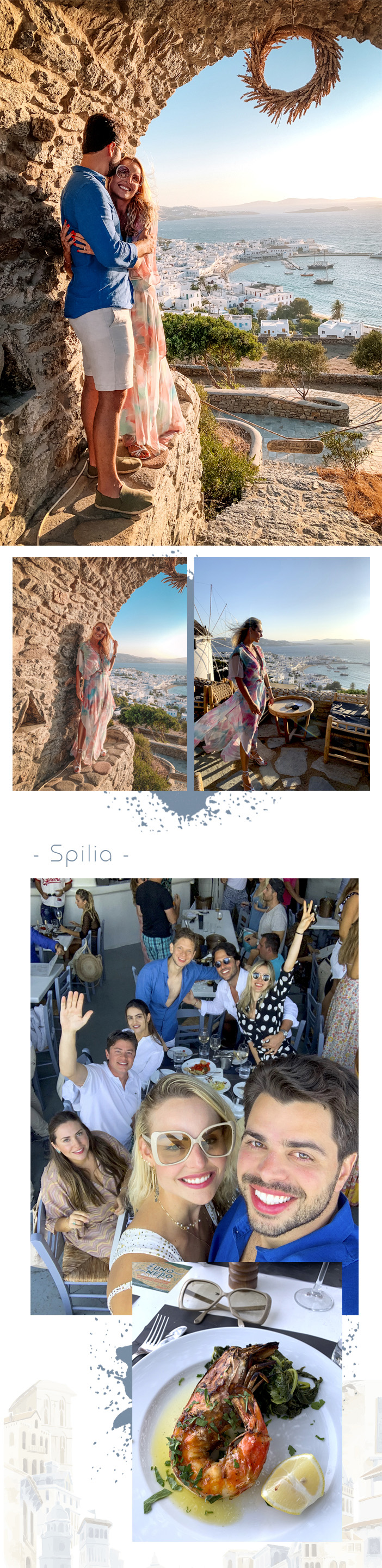 Diário de Bordo - Layla em Mykonos