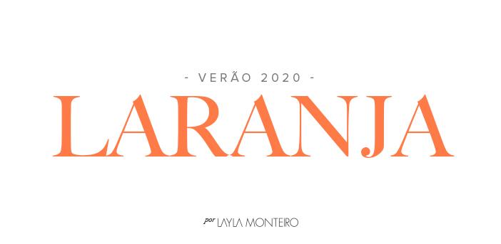 Verão 2020 - Laranja