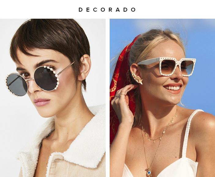 Tendências Óculos de Sol 2020 - Decorado