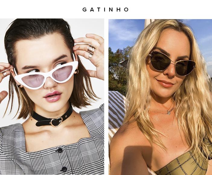 Tendências Óculos de Sol 2020 - Gatinho