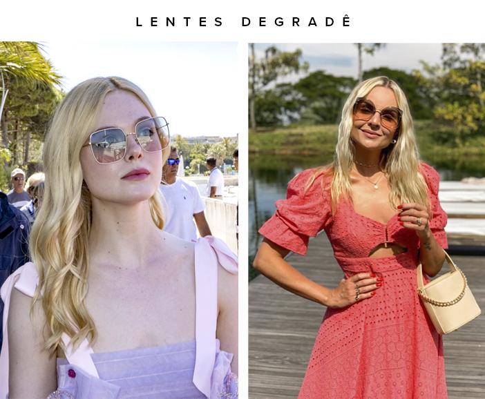 Tendências Óculos de Sol 2020 - Lentes Degradê