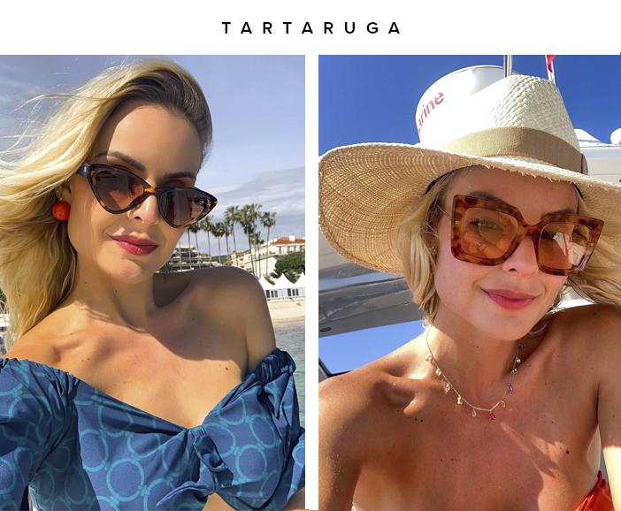 Tendências Óculos de Sol 2020 - Tartaruga