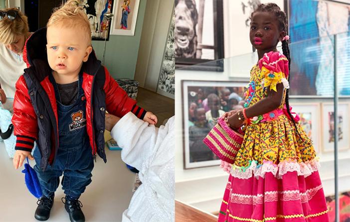 As crianças mais fashionistas do momento