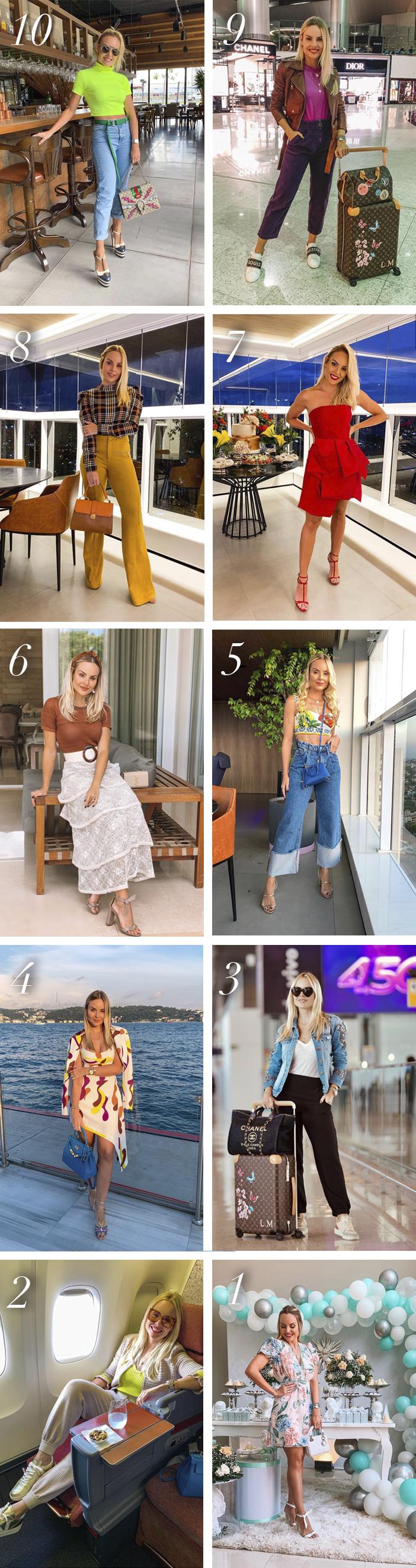 Meus 10 Looks Mais Curtidos Em 2019