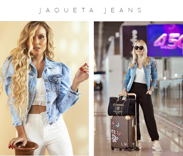 Peças Para Usar Durante Todo o Ano - Jaqueta Jeans