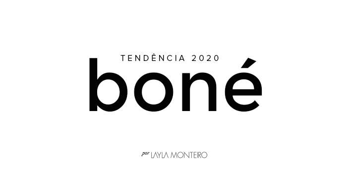 Tendência 2020 - Boné