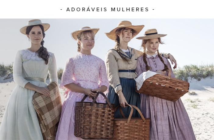 Os Filmes Indicados a Melhor Figurino do Oscar 2020 - Adoráveis Mulheres