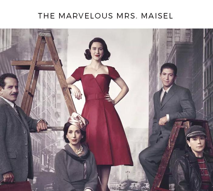 Dicas de série para maratonar - The Marvelous Mrs. Maisel