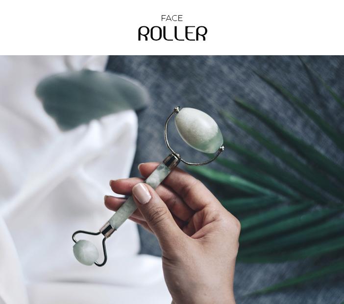 4 Acessórios para sua rotina de skincare - Face Roller