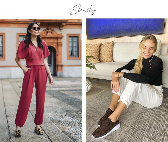 4 Modelos Confortáveis de Calça - Slouchy