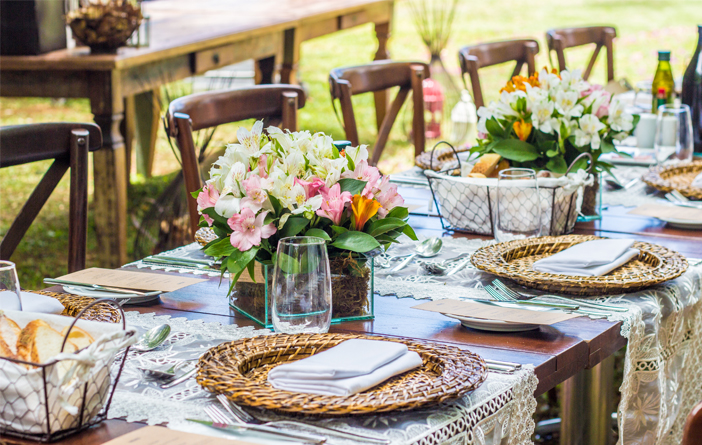 Ideias de mesa posta para o Dia das Mães