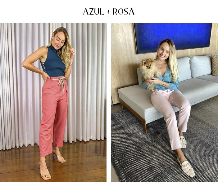 3 Combinações com rosa para testar já! - Azul + Rosa