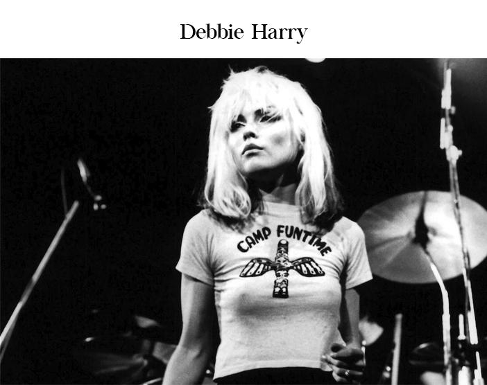 Dia do Rock - As Mulheres do Rock - Debbie Harry