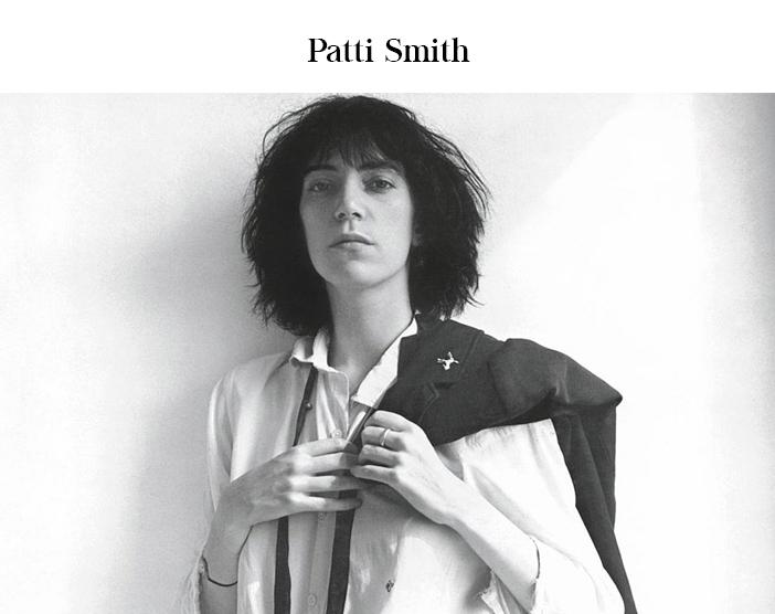 Dia do Rock - As Mulheres do Rock - Patti Smith