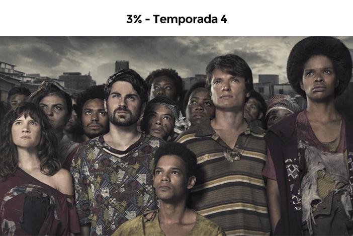Estreias Netflix Agosto - 2020 - 3% Temporada