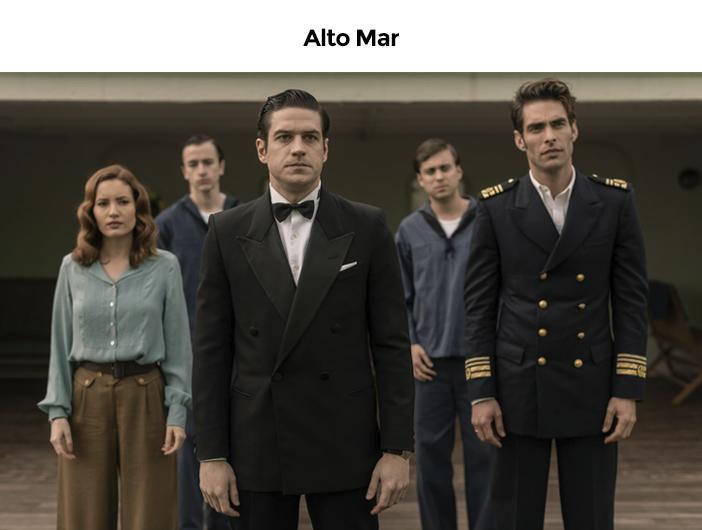 Estreias Netflix Agosto - 2020 - Alto Mar