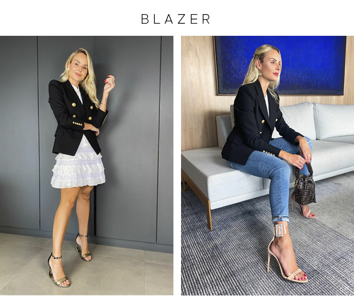 4 Peças que Multiplicam os Looks - Blazer