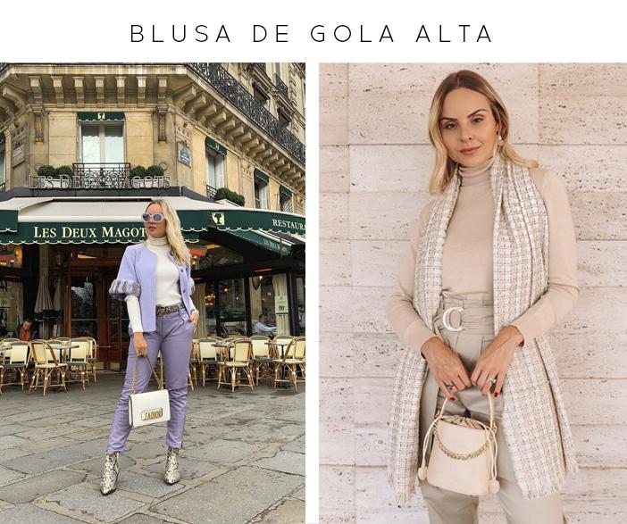 4 Peças que Multiplicam os Looks - Blusa de Gola Alta