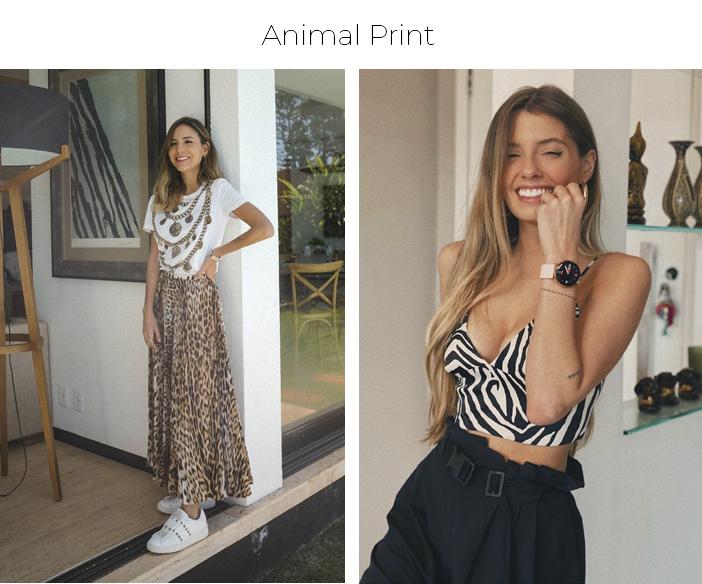 5 Estampas Para o Verão 2021 - Animal Print