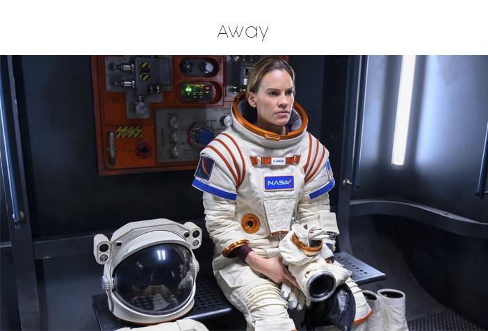 Estreias Netflix e Prime Video - Setembro 2020 - Away