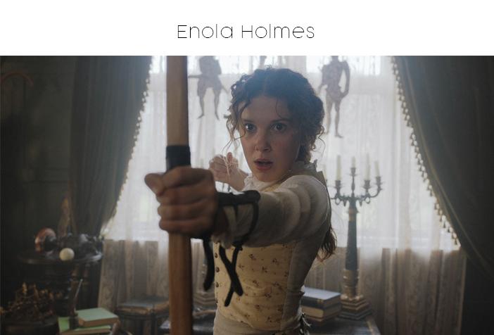 Estreias Netflix e Prime Video - Setembro 2020 - Enole Holmes