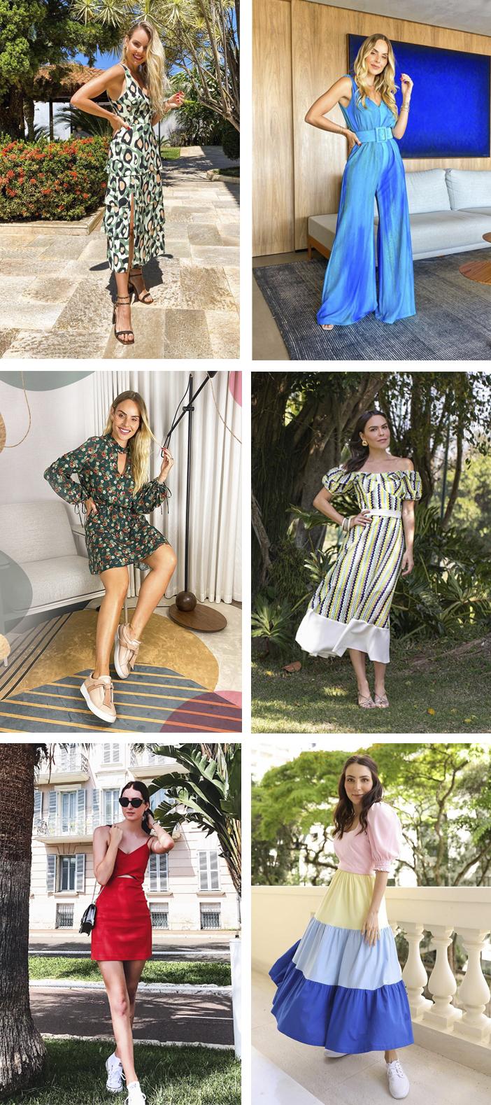 10 Looks estilosos para dias quentes