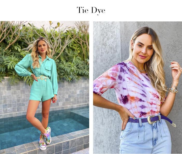 5 Tendências que Continuam no Verão 2021 - Tie Dye