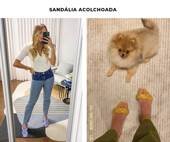 6 Tendências Polêmicas - Sandália Acolchoada