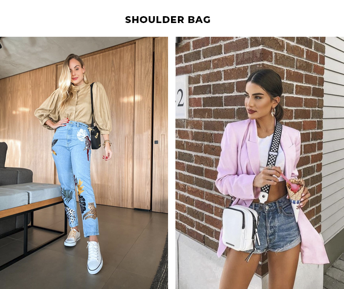 6 Tendências Polêmicas - Shoulder Bag