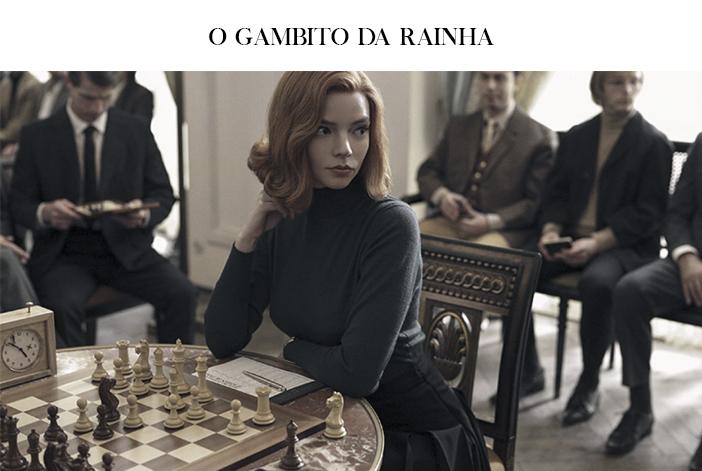 Estreias Netflix para Outubro - O Gambito da Rainha