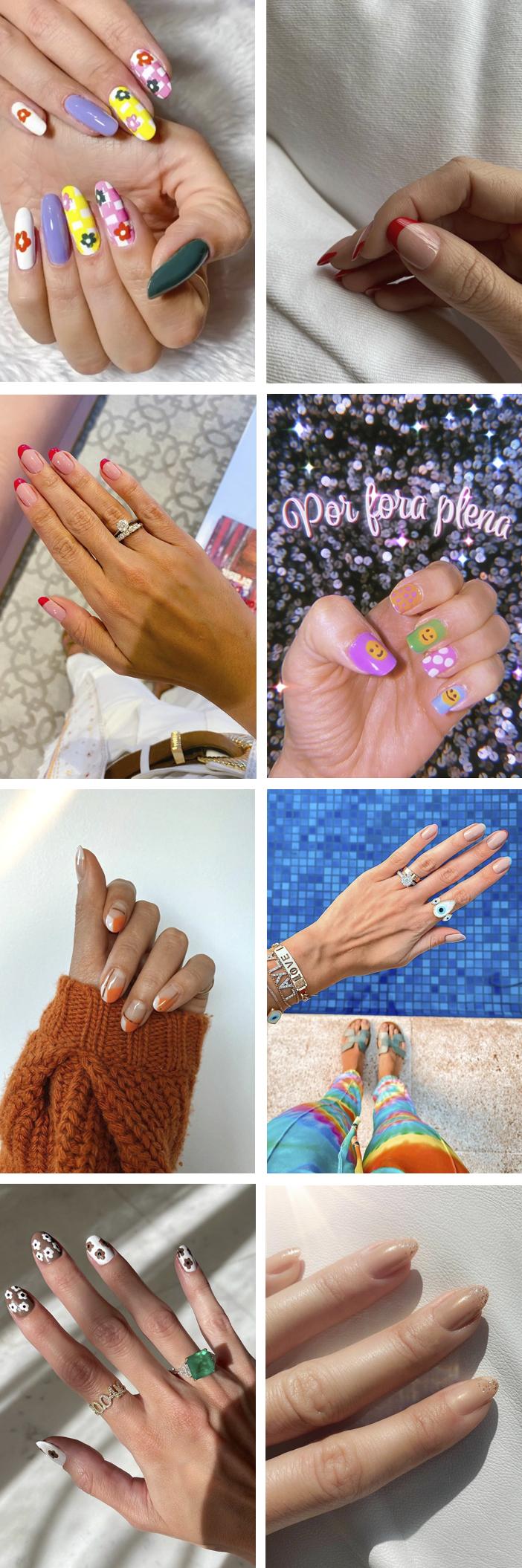 Inspiração de Nails Art