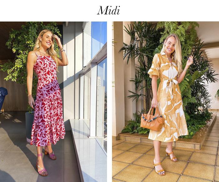7 Vestidos Essenciais para o Verão - Midi